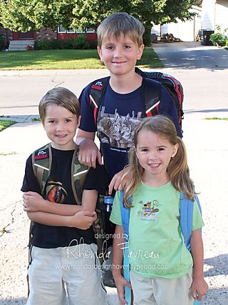 First day of School - August 28, 2008 (2)