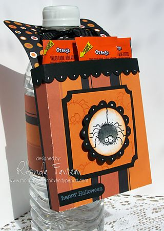 Halloween Hanging Treat Box - Sept. 8, 2008 008