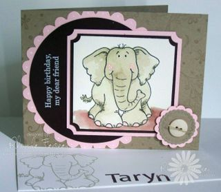 Taryn's 4th birthday card - Oct 3, 2008 012