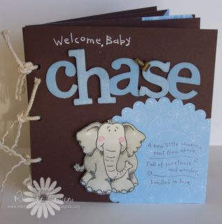 Mini Scrapbook for Chase - Oct 2008 001