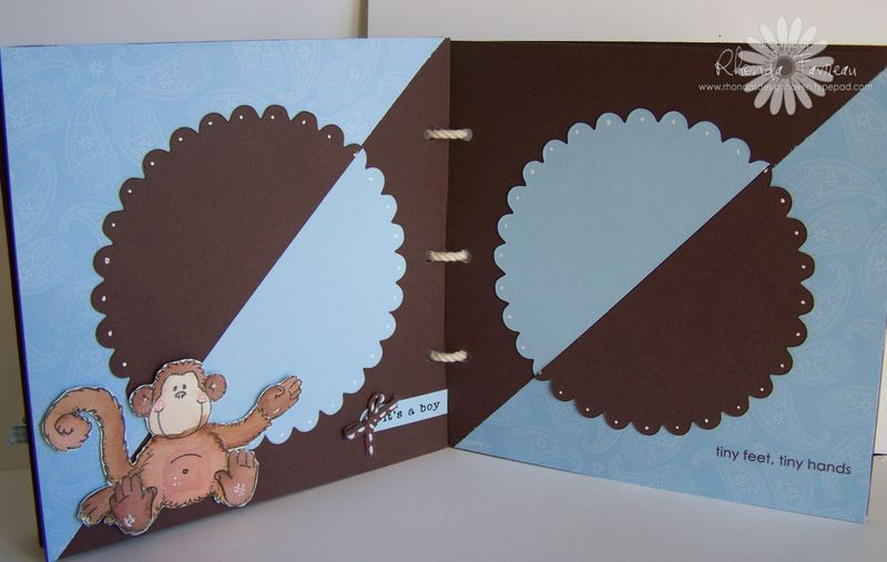 Mini Scrapbook for Chase - Oct 2008 019