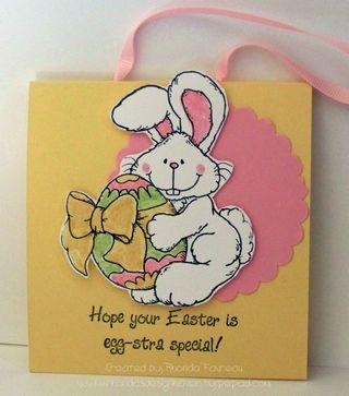 Easter treat bags - April 2009