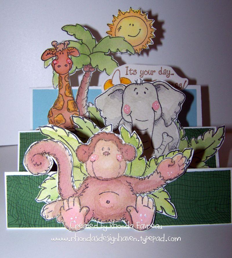 Alex's 3rd birthday card