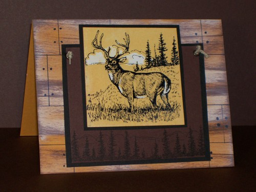 Noble Deer Father's Day Card